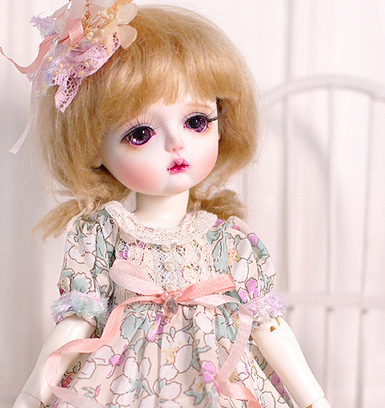 [Limited] 26cm :: Dress :: Miel no.4
